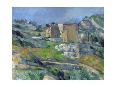 Houses in Provence: the Riaux Valley Near L'Estaque-Paul C?zanne-Giclee Print