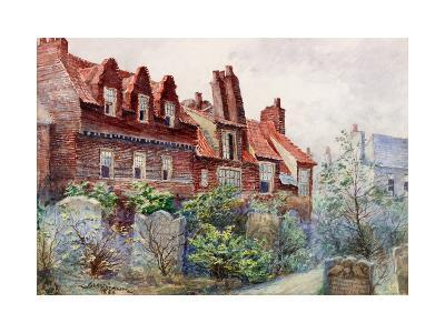 Houses in Silver Street from All Saints Churchyard-John Atlantic Stephenson-Giclee Print
