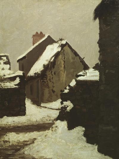 Houses in Snow-Robert Alan Mowbray Stevenson-Giclee Print