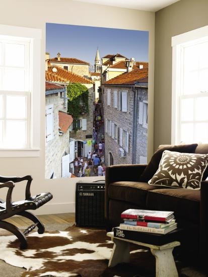 Houses in Stari Grad (Old Town)-Richard l'Anson-Wall Mural