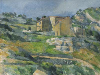 Houses in the Provence: the Riaux Valley Near L'Estaque, C.1833-Paul C?zanne-Giclee Print