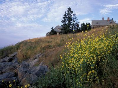 Houses, Maine, USA-Jerry & Marcy Monkman-Photographic Print
