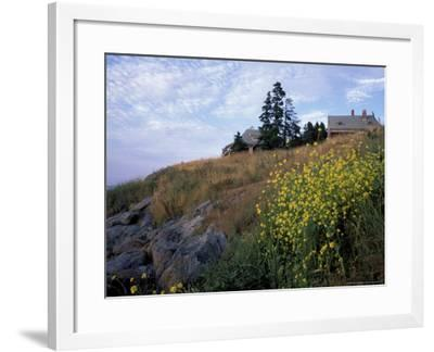 Houses, Maine, USA-Jerry & Marcy Monkman-Framed Photographic Print