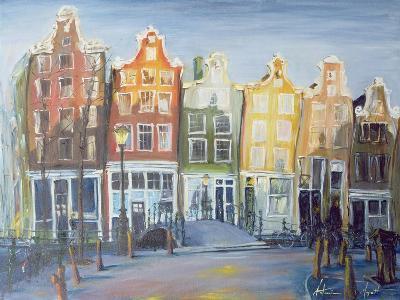 Houses of Amsterdam, 1999-Antonia Myatt-Giclee Print