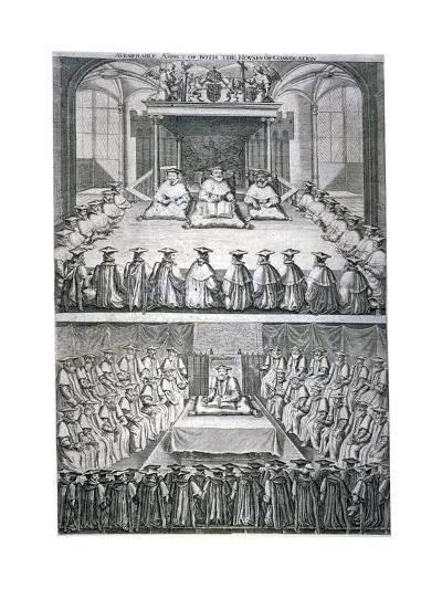 Houses of Convocation, London, C1623--Giclee Print