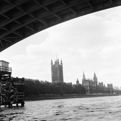 Houses of Parliament. 21st August 1971-Staff-Photographic Print
