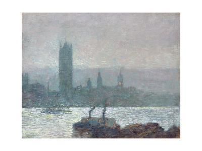 Houses of Parliament, Early Evening, 1898-Childe Hassam-Giclee Print