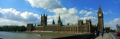 Houses of Parliament London England--Photographic Print