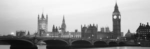 Houses of Parliament Westminster Bridge and Big Ben London England