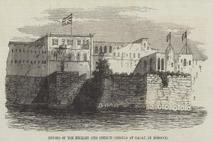 Houses of the English and French Consuls at Rabat, in Morocco