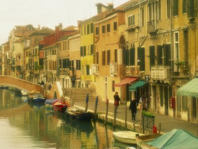 Houses on Canalside, the Ghetto, Venice, Veneto, Italy, Europe-Lee Frost-Photographic Print