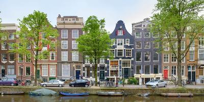 Houses on the Brouwersgracht, Amsterdam, North Holland, Netherlands--Photographic Print