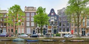 Houses on the Brouwersgracht, Amsterdam, North Holland, Netherlands