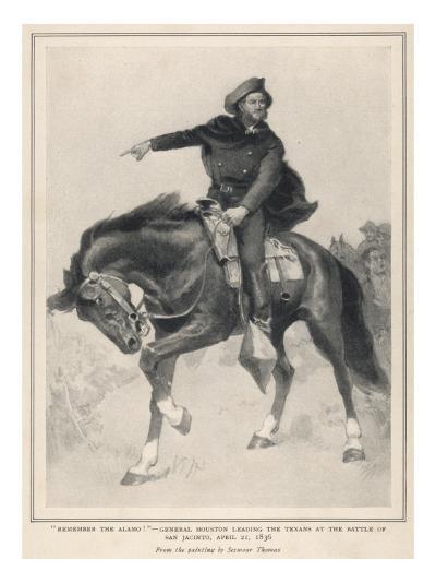 Houston at San Jacinto--Giclee Print
