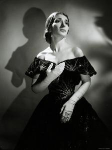 Maria Callas as Violetta in La Traviata by Houston Rogers