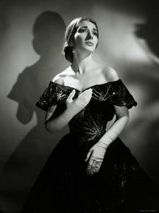 Maria Callas as Violetta in La Traviata by Houston Rogers
