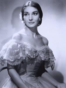 Maria Callas, December 2, 1923 - September 16, 1977, the Most Renowned Opera Singer of the 1950s by Houston Rogers