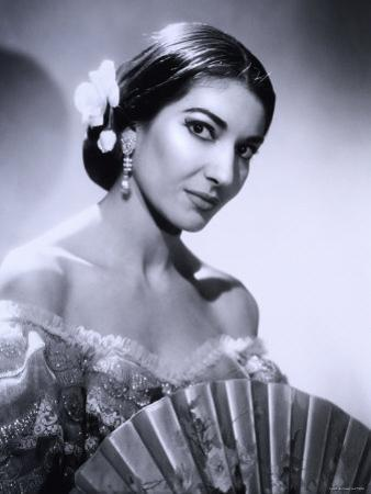 Maria Callas, December 2, 1923 - September 16, 1977, the Most Renowned Opera Singer of the 1950s