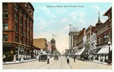 Houston Street, Fort Worth, Texas