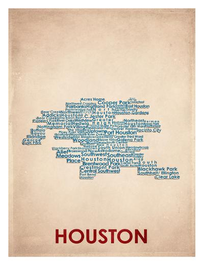 Houston--Art Print