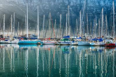 Hout Bay Harbor, Hout Bay South Africa-Richard Silver-Photographic Print