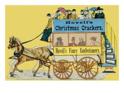 Hovell's Christmas Crackers and Fancy Confectionery--Giclee Print