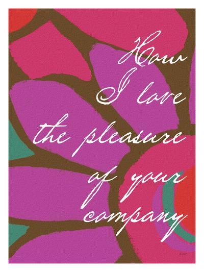 How I Love-Lisa Weedn-Giclee Print