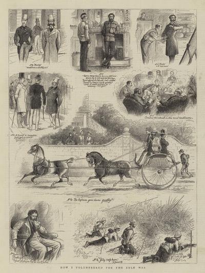 How I Volunteered for the Zulu War--Giclee Print