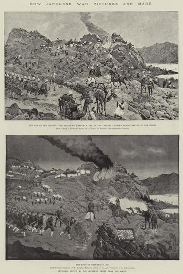 How Japanese War Pictures are Made-Richard Caton Woodville II-Giclee Print