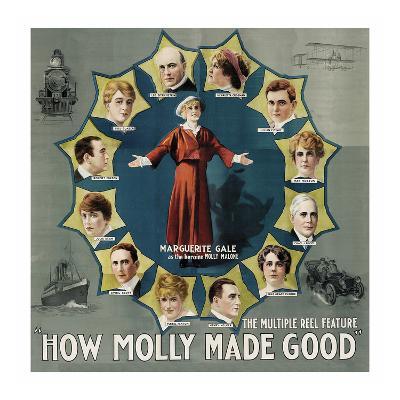 How Molly Made Good--Art Print