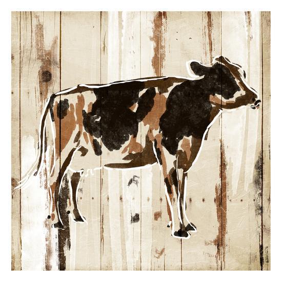 How Now Brown Cow-OnRei-Art Print