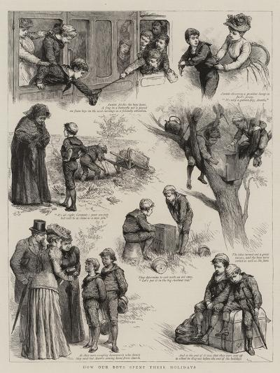 How Our Boys Spent their Holidays-Godefroy Durand-Giclee Print