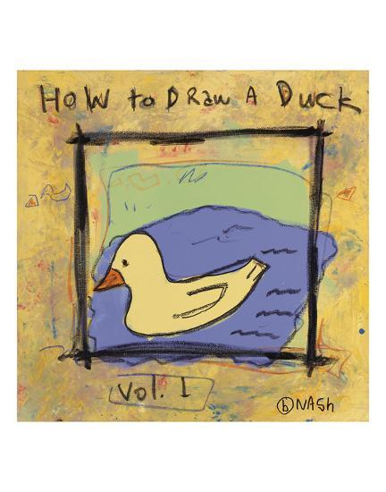 How to Draw a Duck-Brian Nash-Art Print
