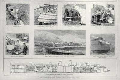 How Torpedo Boat is Built at Messrs. Yarrow and Co.'s Works, Poplar, 'The Illustrated London News'