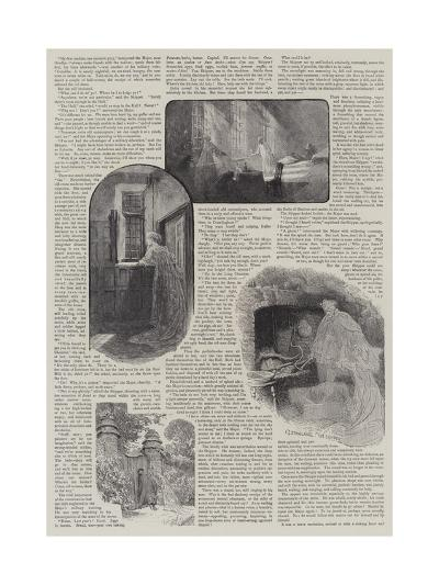 How We Discovered a Haunted House-Charles Joseph Staniland-Giclee Print
