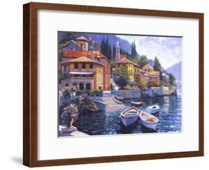 Lake Como Landing by Howard Behrens