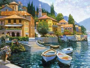 Lake Como Landing by Howard Behrens