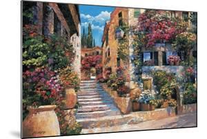 Riviera Stairs by Howard Behrens