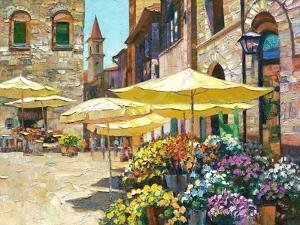 Siena Flower Market by Howard Behrens