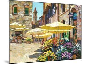 Siena Flower Market by Howard Behrens