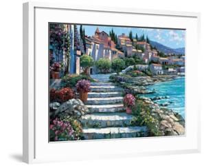 Steps of St. Tropez by Howard Behrens