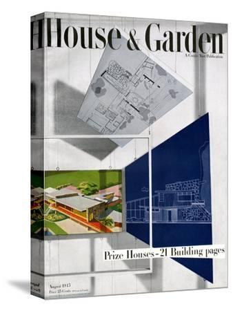 House & Garden Cover - August 1945