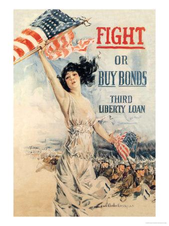 FIGHT! or Buy Bonds: Third Liberty Loan