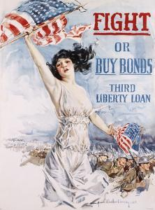 Fight or Buy Bonds by Howard Chandler Christy