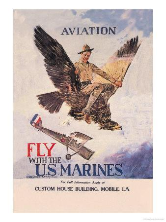 Fly with the U.S. Marines