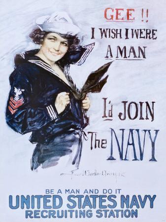 howard-chandler-christy-gee-i-wish-i-were-a-man-c-1918