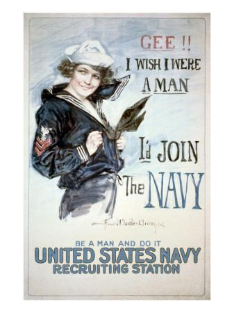 Gee!! I Wish I were a Man, circa 1918