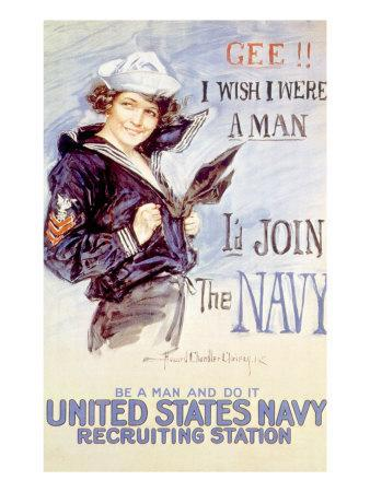 World War I American Recuiting Poster, 1917