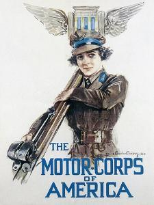 World War I: Motor Corps by Howard Chandler Christy