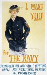 World War I: Navy Poster by Howard Chandler Christy